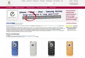 Encori.nl - Hoesjes en accessoires voor smartphone en tablet