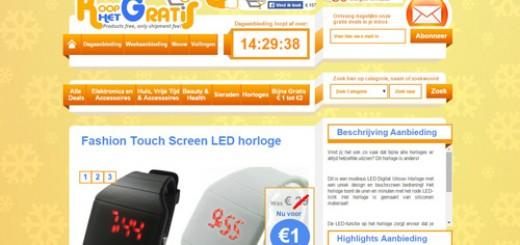 Koophetgratis.nl - Gratis producten, betaal alleen de verzendkosten