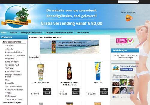 Zonnebankbenodigdheden.nl