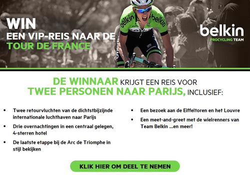Win een VIP reis naar de Tour de France in Parijs