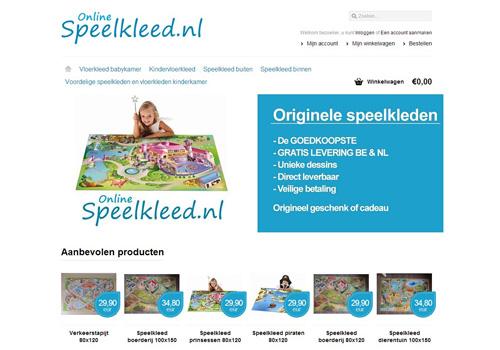Onlinespeelkleed.nl