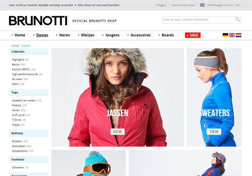 Brunottishop.nl - official online Brunotti shop