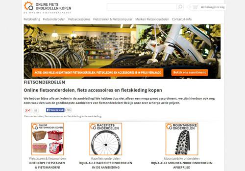 Onlinefietsonderdelenkopen.nl - online fietsonderdelen kopen
