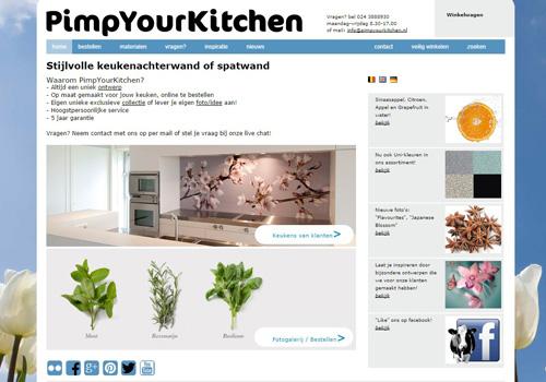Pimpyourkitchen.nl - stijlvolle keukenachterwanden of spatwanden
