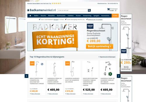 Badkamerwinkel.nl - topmerken sanitair tegen bodemprijzen