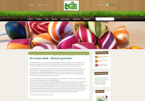 Degroenebuik.nl - bewust gezond snoepen