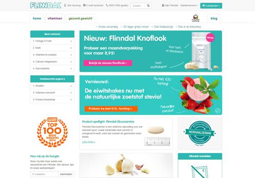 Flindall.nl - dé webshop voor vitaminen en voedingssupplementen