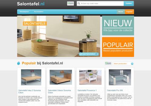Salontafel.nl - goedkope salontafels en bijzettafels