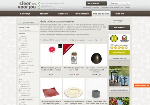 Sfeervoorjou.nl – de webwinkel voor kleurrijk wonen