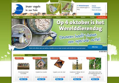 Vivara.nl - alles voor een diervriendelijke tuin