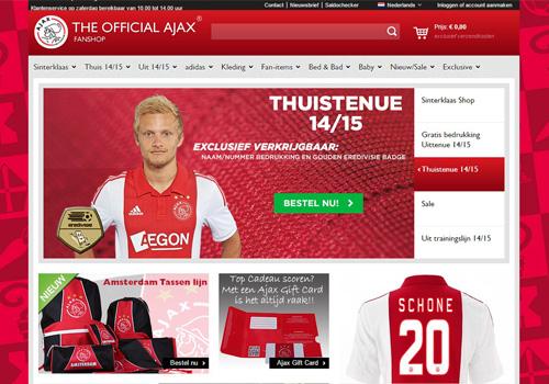 Ajaxshop.nl - de officiële Ajax fanshop