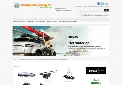 Compleetopweg.nl - accessoires voor auto en fiets