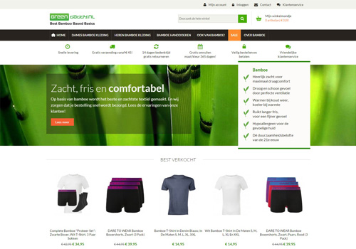 Greendaddy.nl - kleding en textiel van bamboe