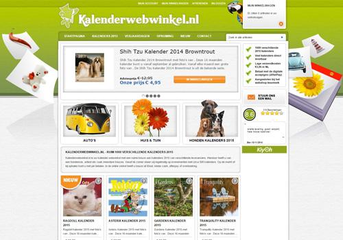 Kalenderwebwinkel.nl - keuze uit meer dan 1000 kalenders