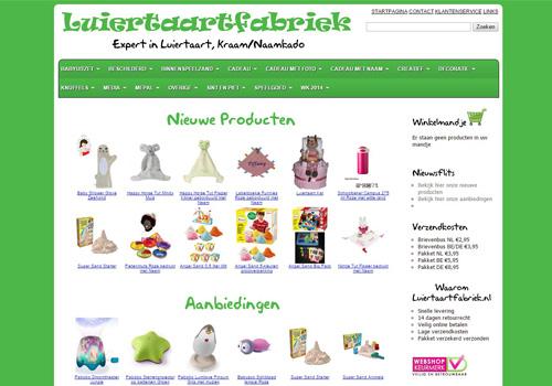 Luiertaartfabriek.nl - luiertaarten en unieke kraamcadeaus