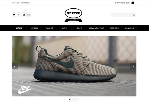 Pimsneakers.nl - for all your sneakers