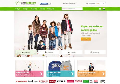 VintyKids.com - tweedehands kindermerkkleding kopen en verkopen