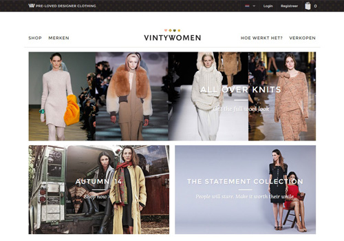 VintyWomen.com - tweedehands merkkleding kopen en verkopen