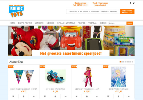 Brinic.nl - Brinic Toys online speelgoedshop