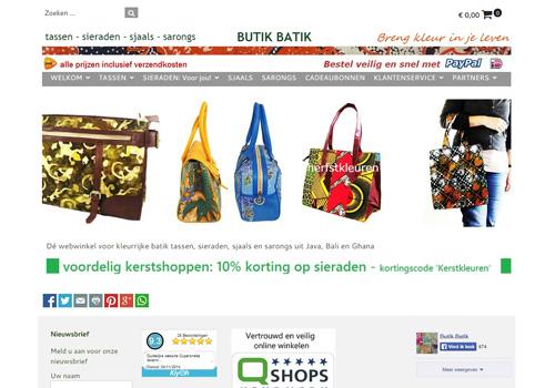 Butik-batik.nl - eerlijke en kleurrijke modeaccessoires