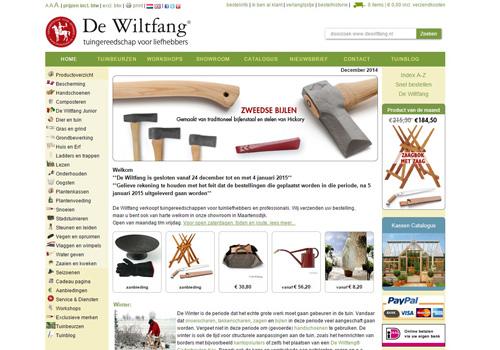 Dewiltfang.nl - tuingereedschap voor liefhebbers en professionals