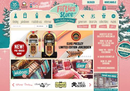 Fiftiesstore.com - de grootste retro collectie sinds de jaren '50