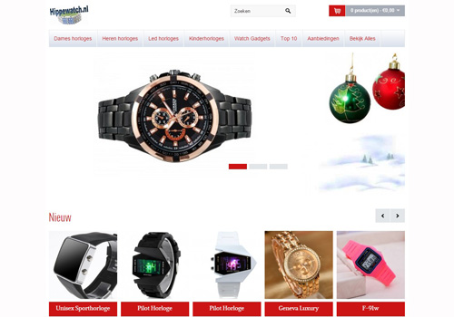 Hippewatch.nl - betaalbare horloges van goede kwaliteit