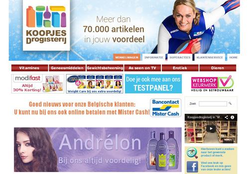 Koopjesdrogisterij.nl - de voordeligste drogisterij van Nederland