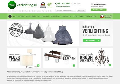Maxverlichting.nl - optimaal lichtcomfort voor een lage prijs