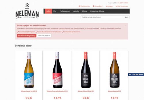 Neleman.org - Spaanse biologische wijnen met een Nederlands hart