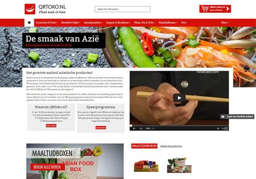QRToko.nl - de grootste online Aziatische supermarkt