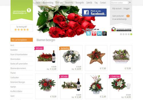 Verstuureenbloemetje.nl - bloemen bestellen en laten bezorgen