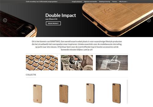 Rawtwig.nl - unieke houten hoesjes en covers