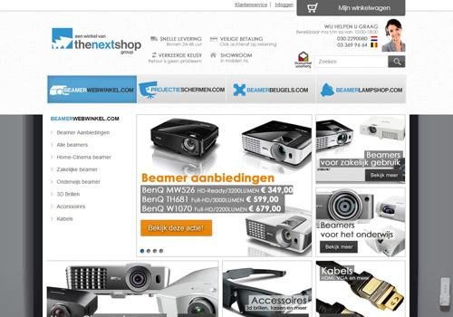 Beamerwebwinkel.com - dé beamer specialist van Nederland en België