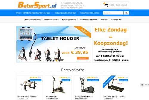 BeterSport.nl - online fitnessapparaten bestellen