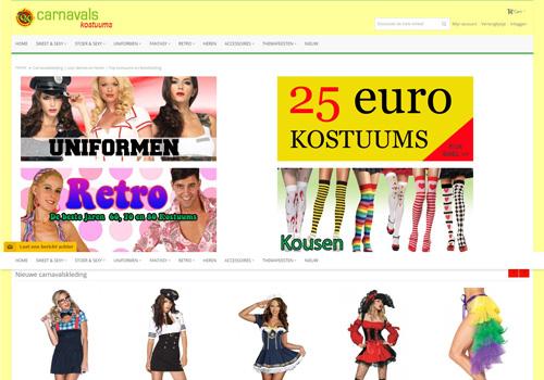 Carnavalskostuums.nl - voor de leukste carnavalskleding