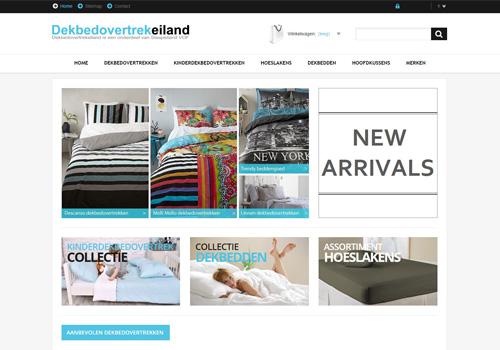 Dekbedovertrekeiland.nl - de online dekbedovertrek specialist
