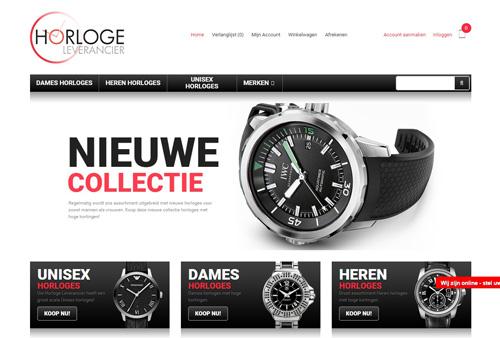 Horlogeleverancier.nl - originele horloges met hoge kortingen