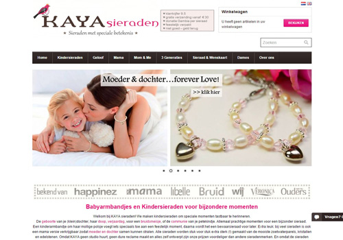 Kayasieraden.nl - sieraden met een speciale betekenis