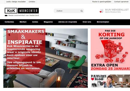 Kokwooncenter.nl - 11.000 m2 online woonbeleving
