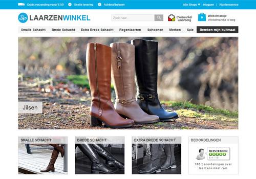 Laarzenwinkel.com - de mooiste laarzen met smalle of brede schacht