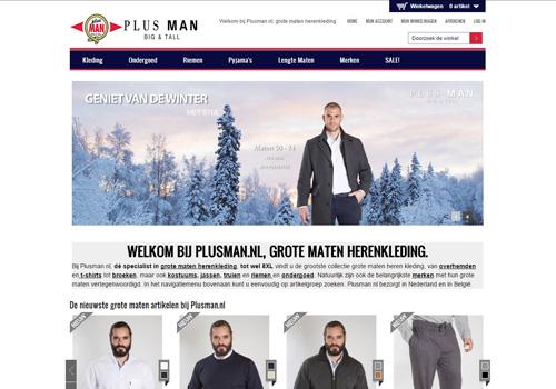 Plusman.nl - specialist in grote maten herenkleding