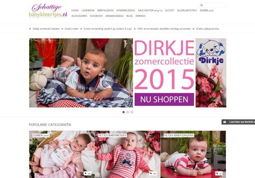 Schattigebabykleertjes.nl - schattige babykleertjes en stoere kinderkleding