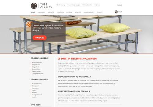 Tubeclamps.nl - van steigerbuis onderdelen tot kant en klare meubels