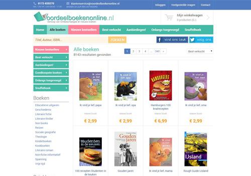 Voordeelboekenonline.nl - meer dan 7.000 voordelige boeken