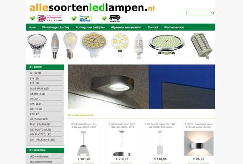 Allesoortenledlampen.nl - alle soorten LED lampen en LED verlichting