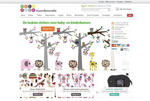 DecoDeco.nl - originele muurstickers voor baby- en kinderkamers