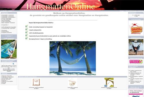 Hangmattenonline.nl - de goedkoopste in hangmatten en hangstoelen