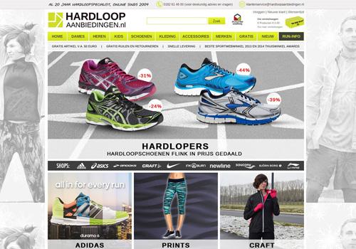 Hardloopaanbiedingen.nl - de voordeligste hardloopspecialist