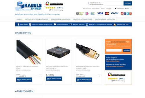 Kabelsenmeer.nl - alle kabels voor TV, audio en computer